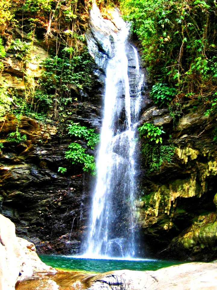 Agbalala Falls is one of the tourist spots/destinations in Occidental Mindoro
