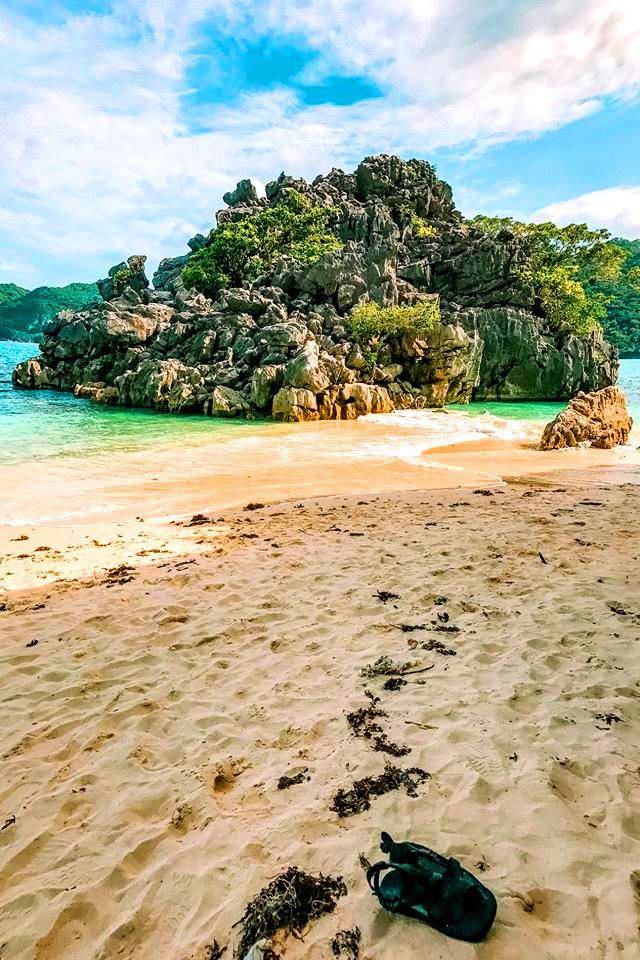 Caramoan Islands is one of the tourist spots/destination in Camarines Sur