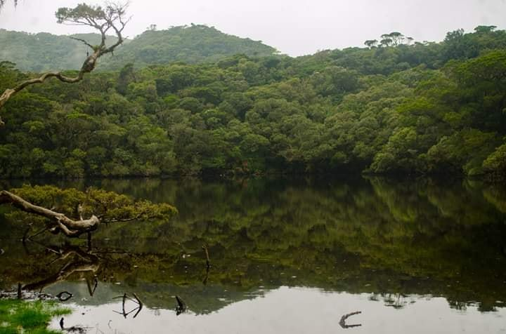 Ambulalakaw Lake is one of the best examples of lakes in the Philippines
